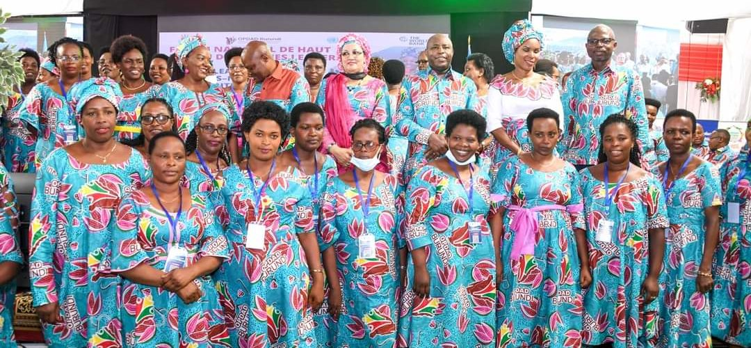 BURUNDI / OPDAD – OAFLAD : 2ème Édition du Forum National de Haut Niveau des Femmes Leaders