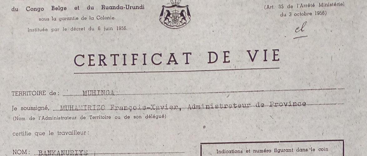 GENOCIDE CONTRE LES BAHUTU DU BURUNDI DE 1972 : Le piège des certificats de vie pour réintégrer la vie / MUYINGA