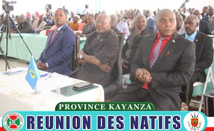 BURUNDI : Réunion des natifs de KAYANZA sur les réalisations et les perspectives d'avenir