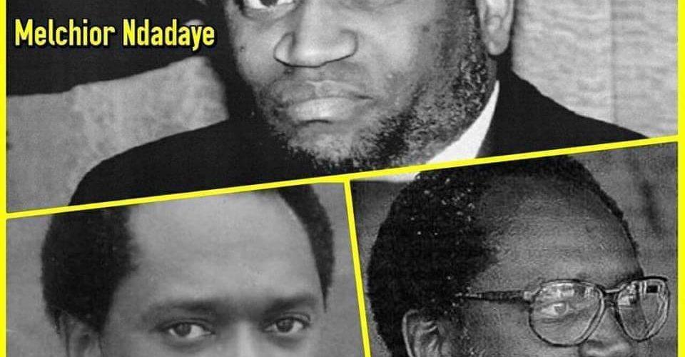 BURUNDI :  Il y a 28 ans  Feu NDADAYE Melchior devenait un être historique REVOLUTIONNAIRE