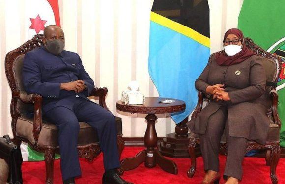 BURUNDI / TANZANIE : S.E. NDAYISHIMIYE rencontre S.E. SULUHU