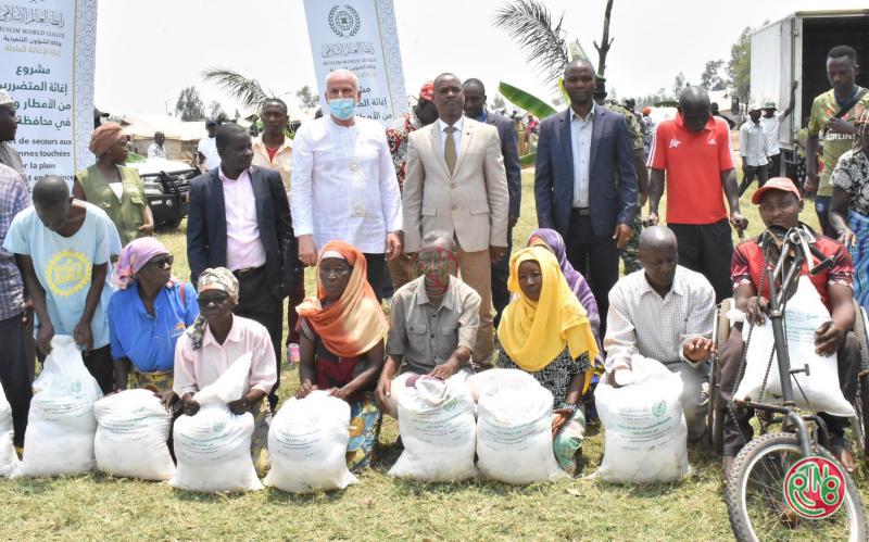 Les victimes des inondations de Gatumba reçoivent une assistance