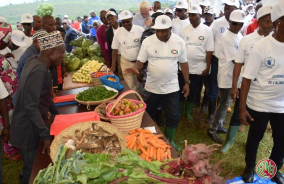 Le Burundi se joint au monde pour célébrer la journée internationale de l'alimentation