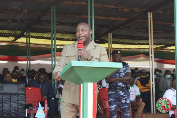 Le Chef de l'État anime une séance de moralisation à Vumbi